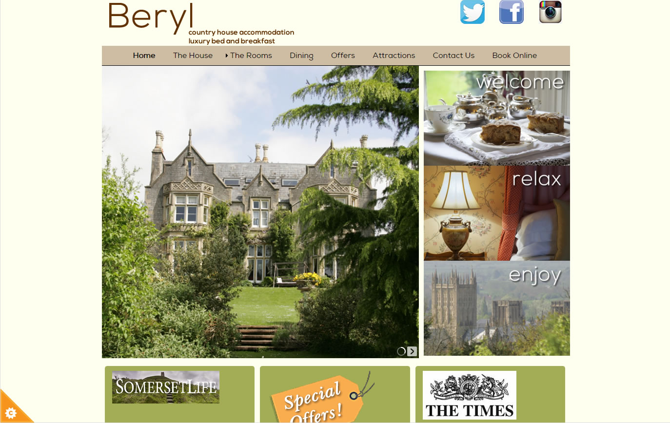 Beryl - Gothic mansion B&B